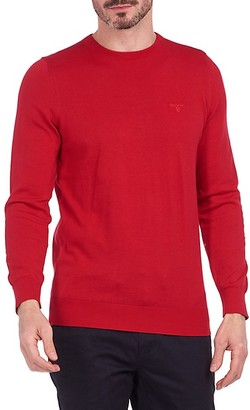 Barbour Logo Embroidered Long-Sleeve T-Shirt