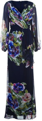 Adrianna Papell Floral Printed Dress