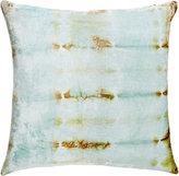 Kevin OBrien Kevin O'Brien Rorschach Velvet Pillow-LIGHT BLUE