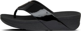 FitFlop Flogo Metallic Toe-Post Sandals