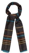 Loro Piana Cashmere & Silk-Blend Striped Shawl