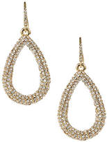 ABS by Allen Schwartz Pave Tear Drop Earrings