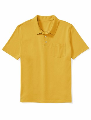 Amazon Essentials Men's Big & Tall Jersey Polo Shirt Shirt