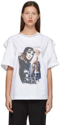 Y/Project White Convertible Cleo T-Shirt