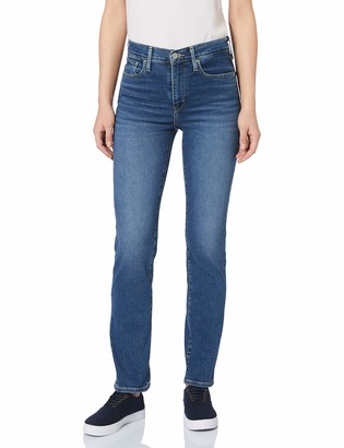 Levi's Women's 724 High Rise Straight Jeans in Denim Size 27R