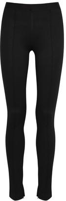 Helmut Lang Black Stretch-jersey Leggings