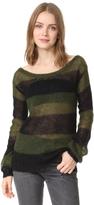 Pam & Gela Wavy Stripe Sweater