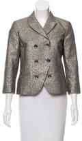 Diane von Furstenberg Little M Tweed Metallic Blazer