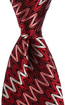 Missoni Zigzag Traditional Silk Tie