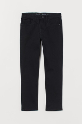 H&M Slim Fit twill trousers