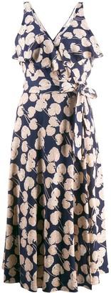 Diane von Furstenberg Kimono leaf dress