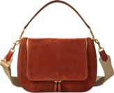 Anya Hindmarch Vere Maxi Satchel In Nubuck