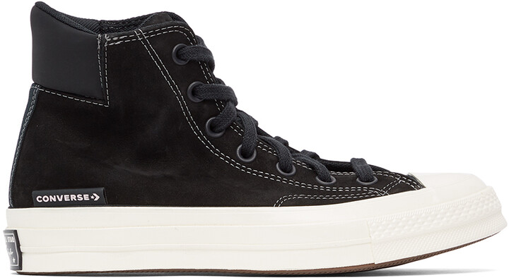 Thumbnail for your product : Converse Black Anodized Metals Chuck 70 Padded High Sneakers