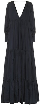 Kalita Exclusive to Mytheresa Circe cotton voile maxi dress