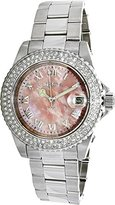 Invicta Women's 'Sea Base' Quartz Stainless Steel Casual Watch, Color:Silver-Toned (Model: 20363)