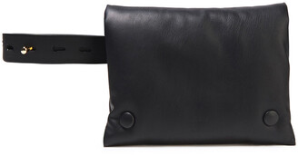 Nanushka Tao Vegan Leather Belt Bag
