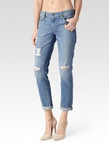 Paige Jimmy Jimmy Crop - Annora Destructed