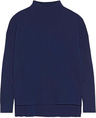 Iris & Ink Morgan Ribbed-knit Turtleneck Sweater