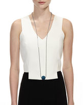 Lafayette 148 New York VIVA DECO DROP NECKLACE