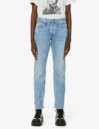 Rag & Bone Rosa boyfriend-fit mid-rise jeans