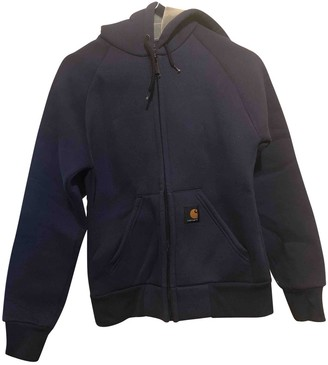 Carhartt Blue Cotton Jacket for Women