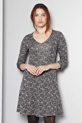Great Plains Crazy Carol Fit and Flare Dress