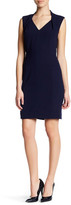 Tahari Sleeveless Stretch Sheath Dress (Petite)