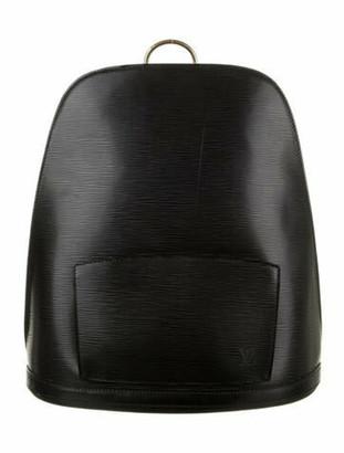 Louis Vuitton Vintage Epi Gobelins Backpack Black