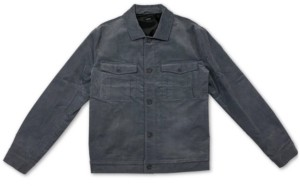 Alfani Men's Corduroy Trucker Jacket, Created for Macy's