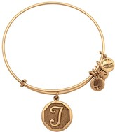 Alex and Ani Initial T Charm Bangle