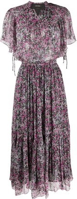 Isabel Marant Ditsy Print Long Dress