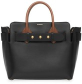 Burberry Small Triple Stud Leather Belt Tote