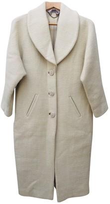 Freda Ecru Cashmere Coat for Women