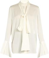Ellery Little Me double-georgette blouse