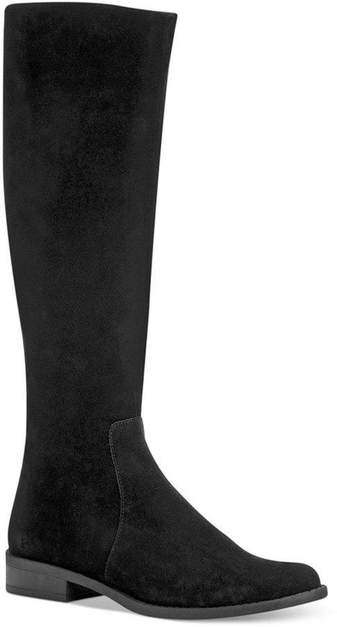 Calvin Klein Women's Taylie Wide Calf Riding Boots