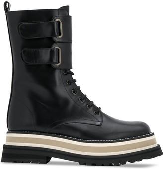 Paloma Barceló Lace-Up Combat Boots
