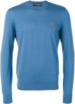 Dolce & Gabbana round neck sweater - men - Virgin Wool - 50