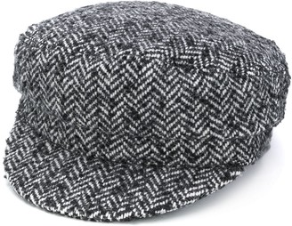 Isabel Marant Tweed Baker Boy Hat