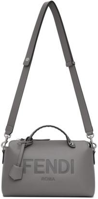 Fendi Grey By The Way Boston Bag