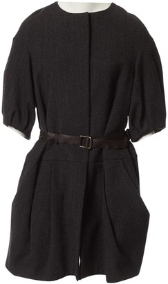 Marni Anthracite Wool Dresses