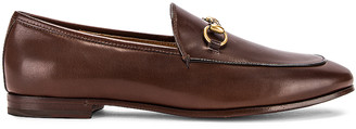 Gucci Jordaan Loafers in Fondente | FWRD