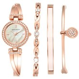 Anne Klein Women's Boxed Bracelet & Bangle Watch Set, 24Mm