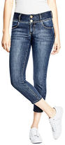 GUESS Women's Bianka Curvy Denim Capris