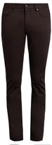 John Varvatos Straight-leg Stretch-cotton Trousers