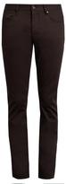John Varvatos Straight-leg Stretch-cotton Trousers