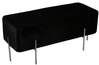 Cortesi Home Orso Upholstered Bench