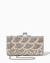 Charming charlie Pearl & Stone Party Clutch