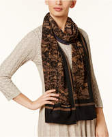 MICHAEL Michael Kors Delicate Lace-Print Wrap and Scarf in One