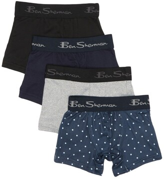 Ben Sherman Assorted Boxer Brief - Pack of 4