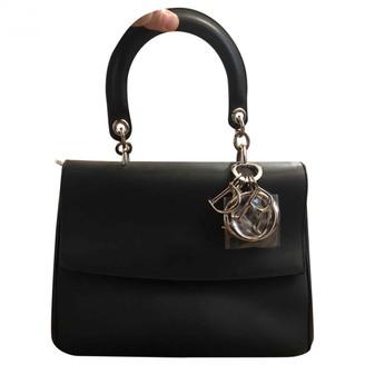 Christian Dior Be Black Leather Handbags